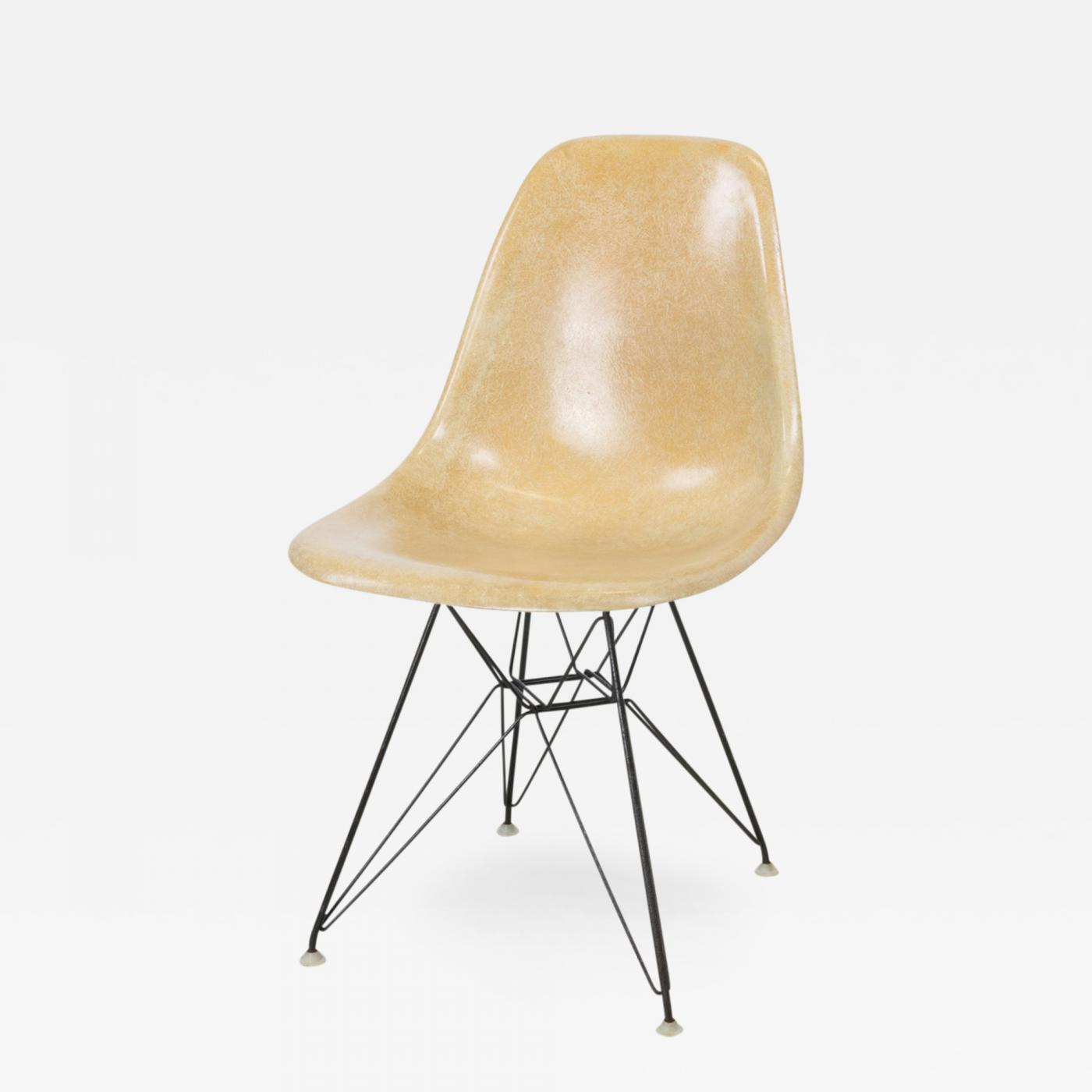 Eames Eiffel Charles And Ray Eames Dsr Eiffel Base Side Chair By Charles And Ray Eames For Herman Miller