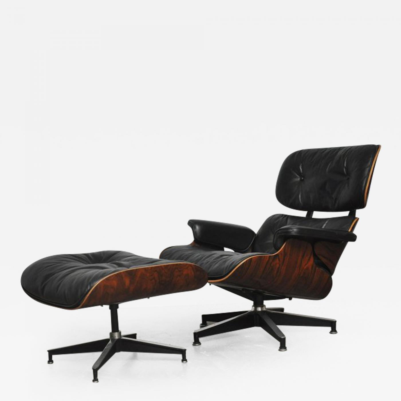 Charles Eames Lounge Chair Charles & Ray Eames - Early Rosewood Charles Eames Lounge Chair For Herman Miller
