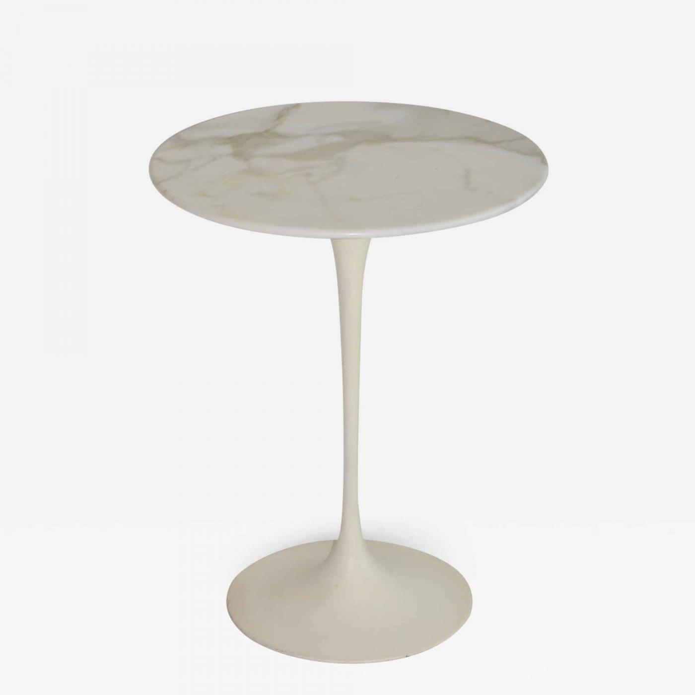 Saarinen Knoll Table Eero Saarinen Eero Saarinen Tulip Side Table In Marble By Knoll