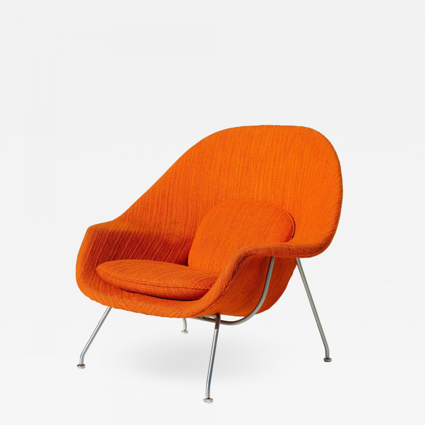 Chair Saarinen Eero Saarinen Eero Saarinen Womb Chair With Original Upholstery And Steel Frame