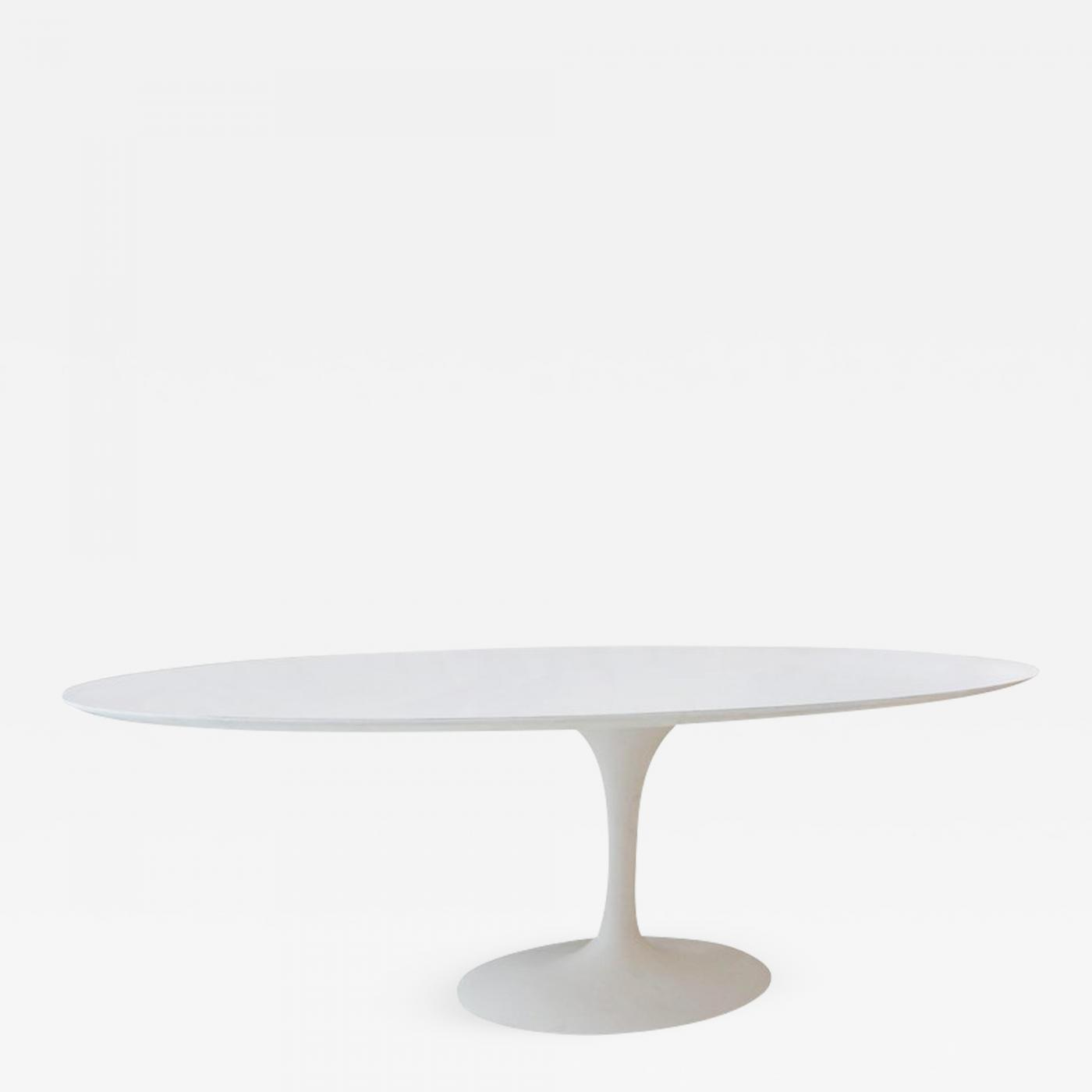 Saarinen Knoll Table Eero Saarinen Vintage Elliptical Eero Saarinen Tulip Dining Table For Knoll