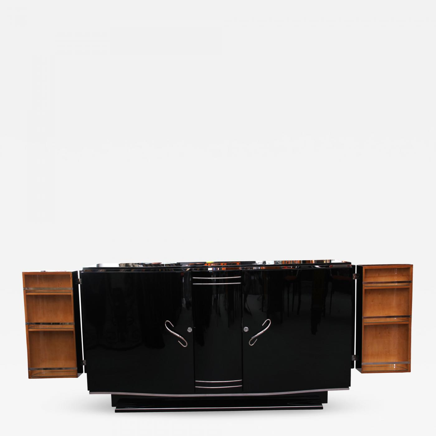 Art Deco Möbel Shop French Art Deco Sideboard With Fold Out Bar Ca 1930