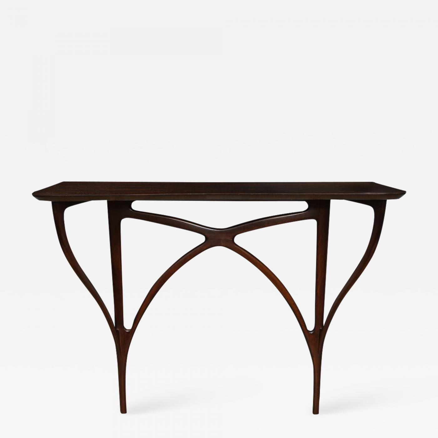 Arte Casa Furniture For Sale Ico Parisi Rare Wall Mounted Console Table By Ico Parisi