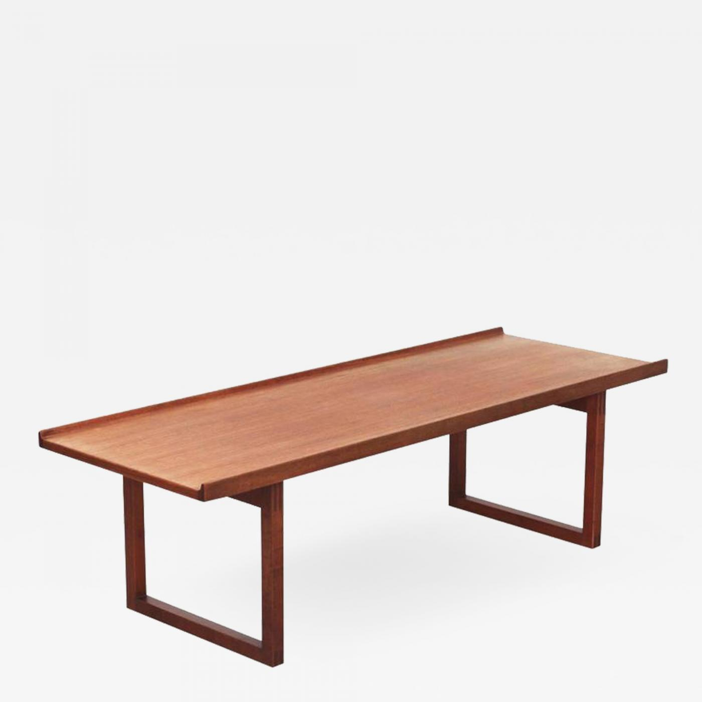 Möbel Carlsson J O Carlsson Jo Carlsson Coffee Table Or Bench In Teak By Vetlanda Sweden