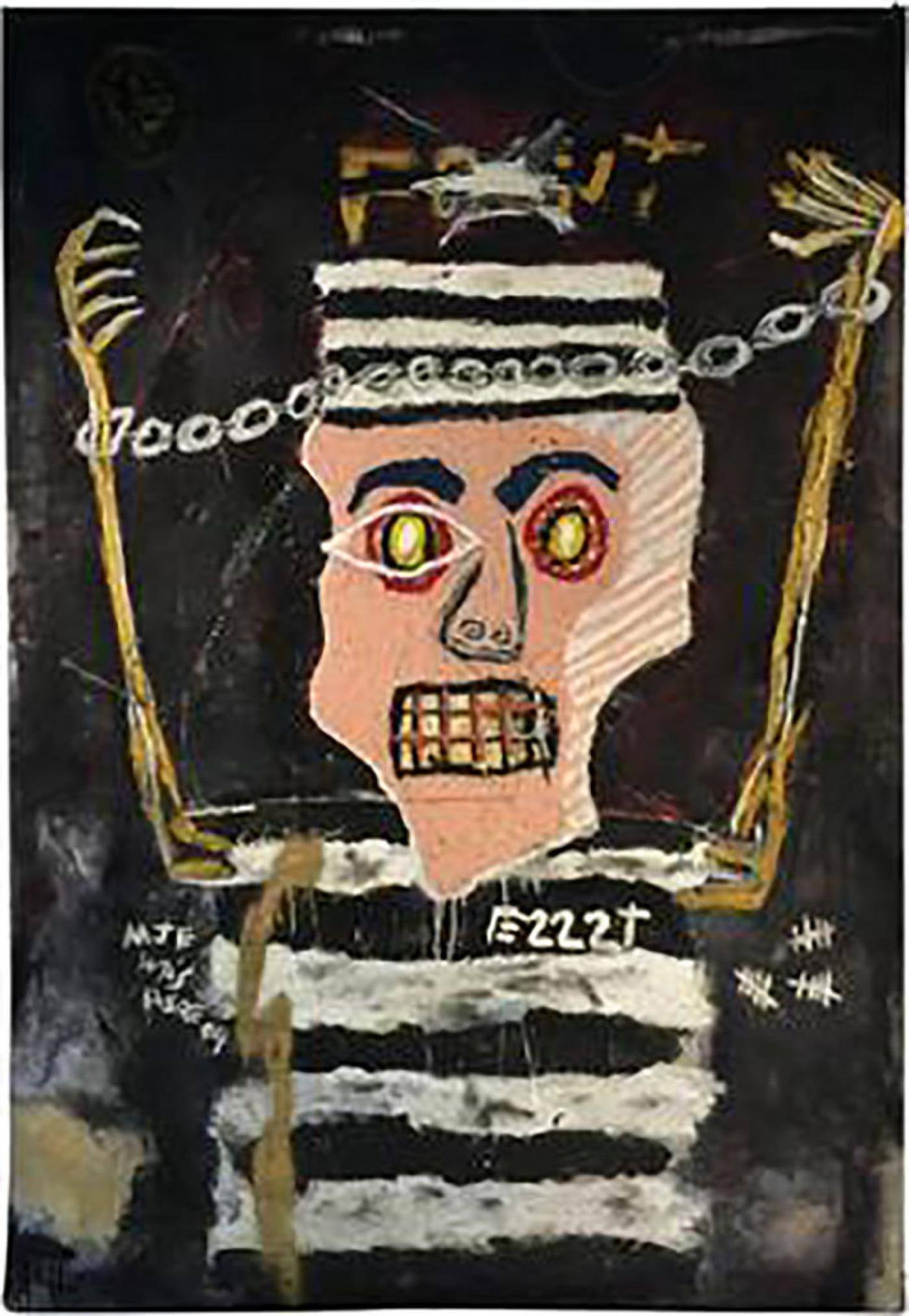 Finn Juhl Jean Michel Basquiat - Modernistic Painting After Jean ...