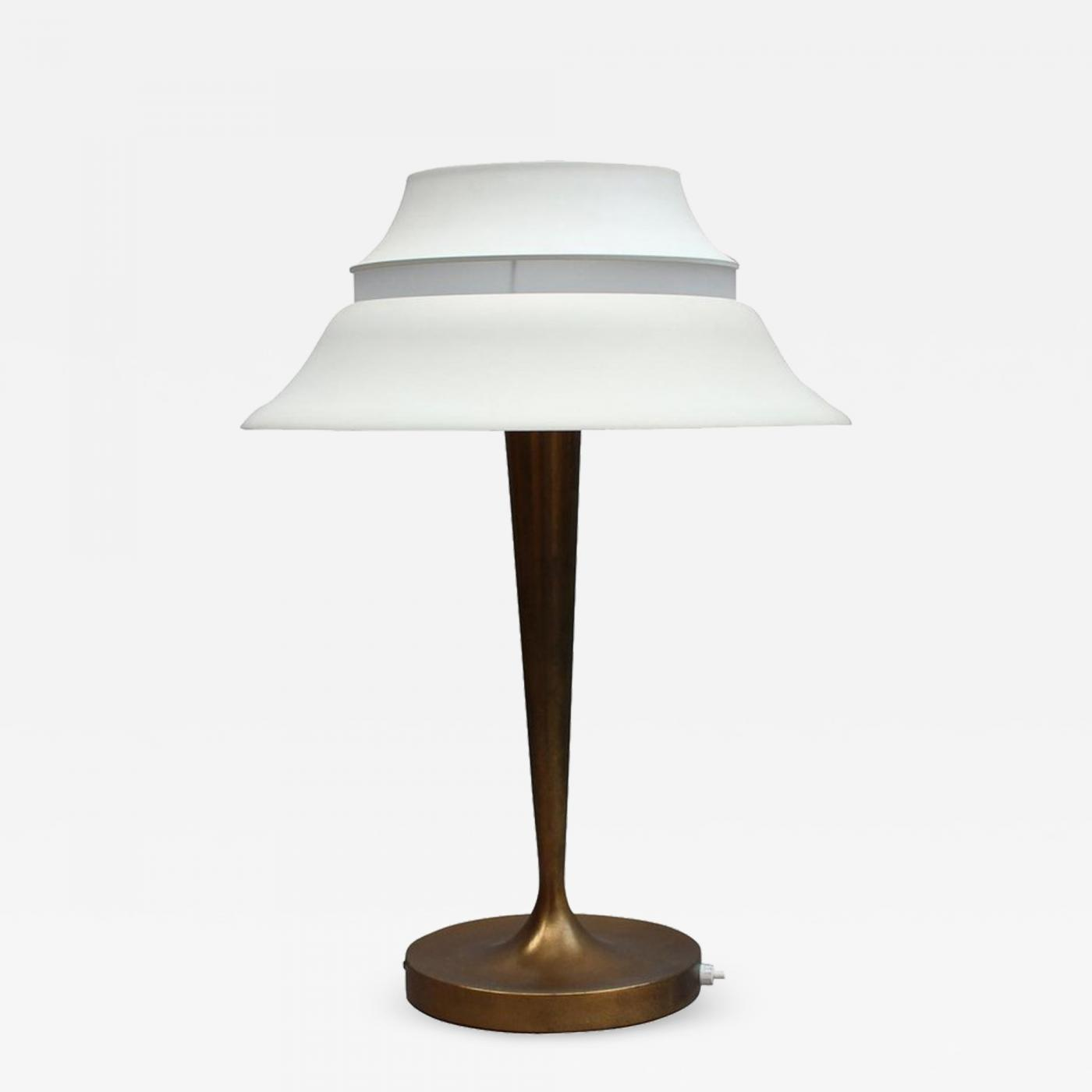 Art Deco Style & Light Jean Perzel A Fine French Art Deco Table Lamp By Jean Perzel