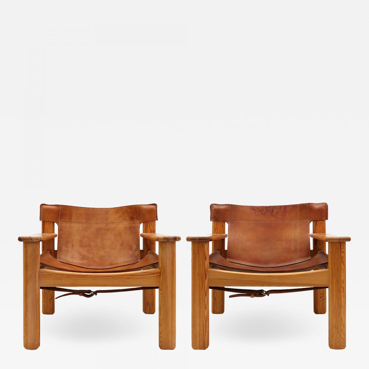Leather Lounge Karin Mobring Leather Lounge Chairs