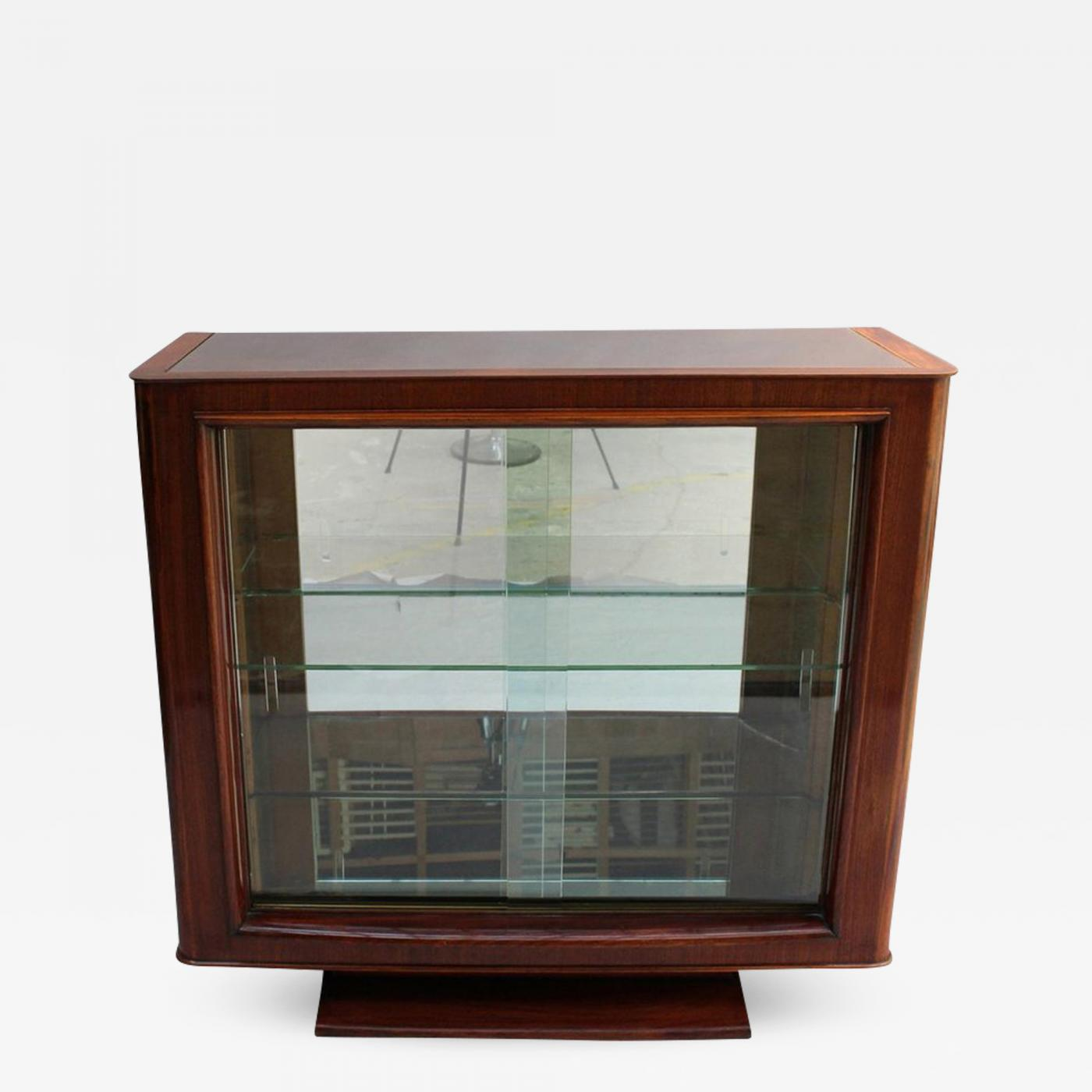 Sideboard Vitrine Maxime Old A Fine French Art Deco Rosewood Vitrine Bar By Maxime Old