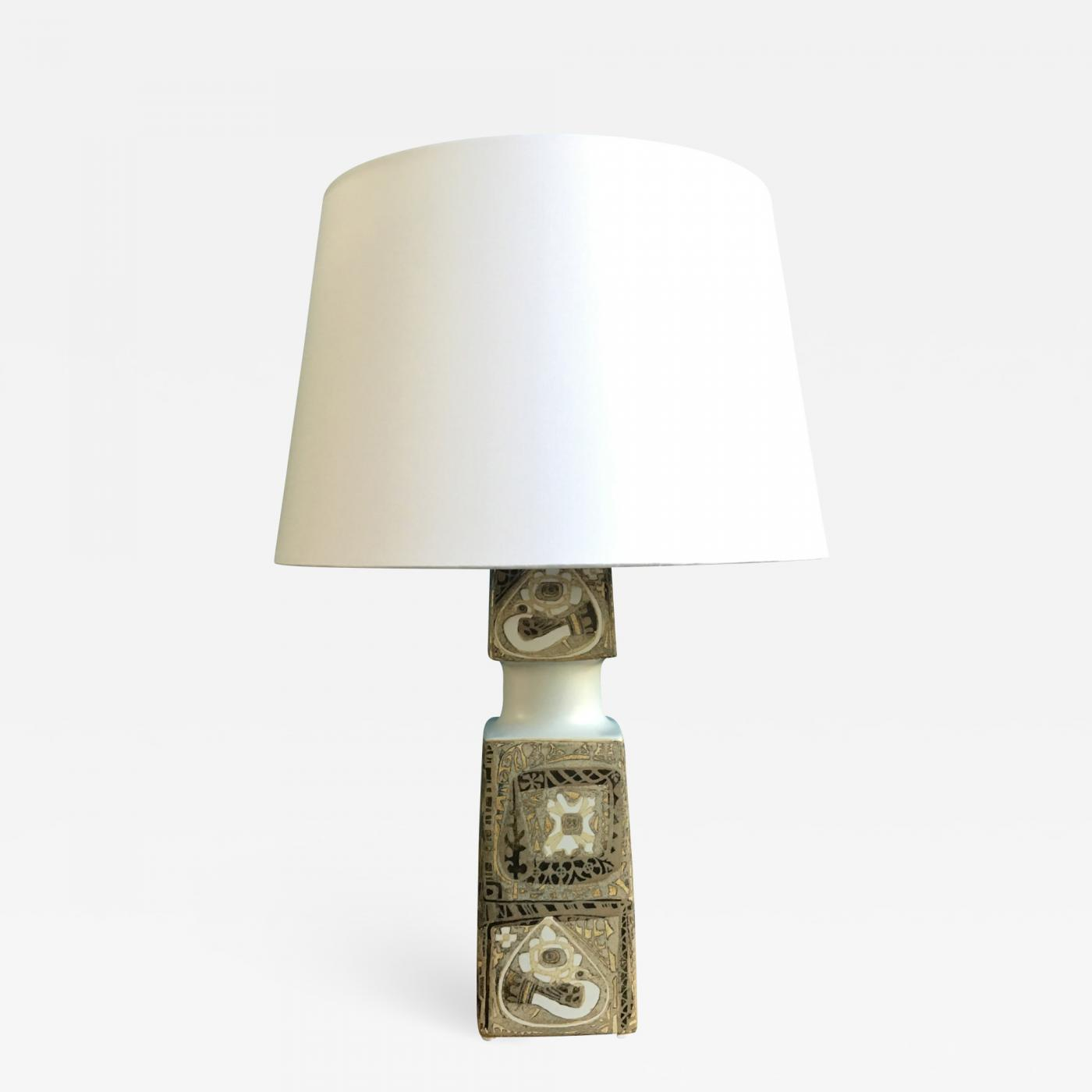 Vintage Table Lamps Nils Thorsson Mid Century Vintage Table Lamp By Nils Thorsson For Fog Morup 1960s