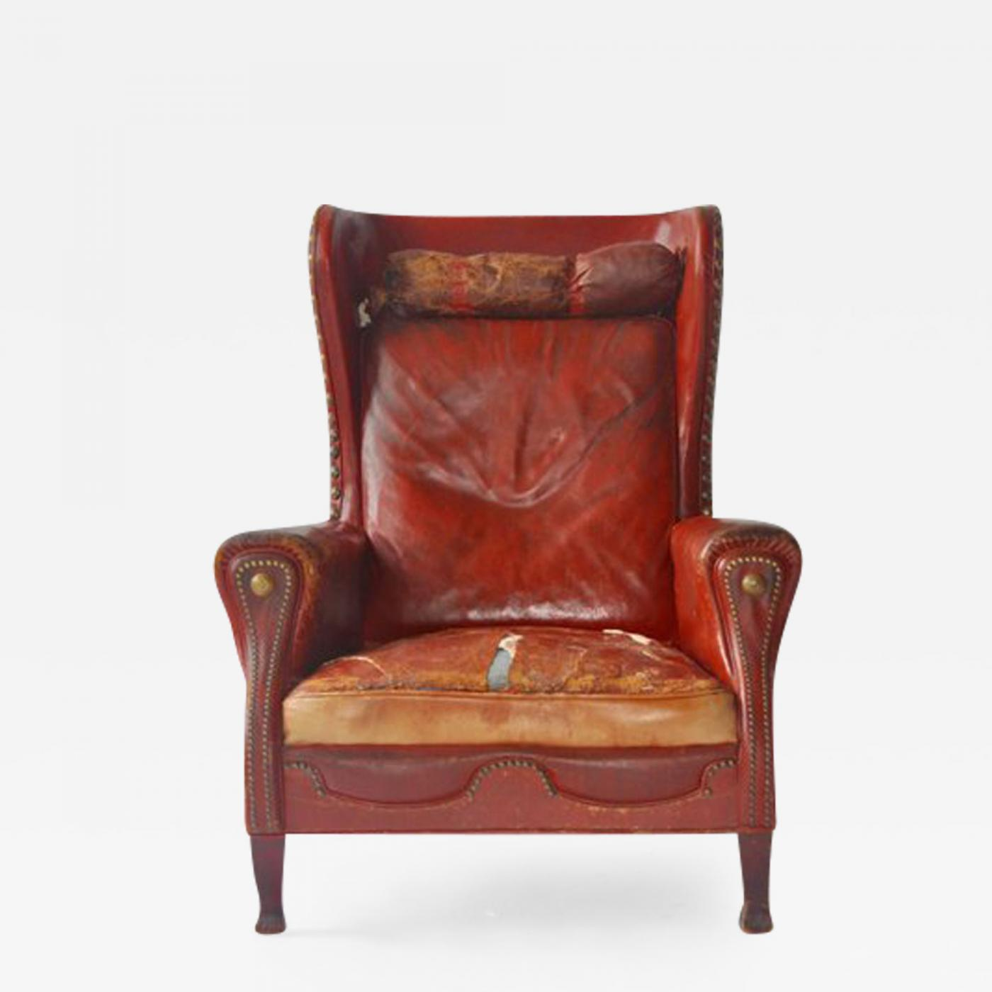 Leather Lounge Otto Schulz Leather Lounge Chair By Otto Schulz
