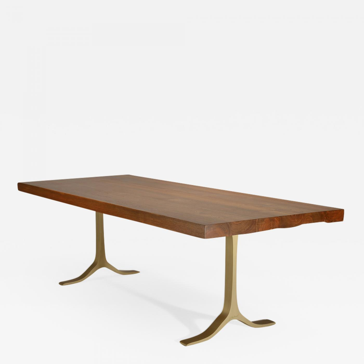 Round Timber Dining Table P Tendercool Bespoke Reclaimed Hardwood Dining Table Hand Cast Brass Base By P Tendercool