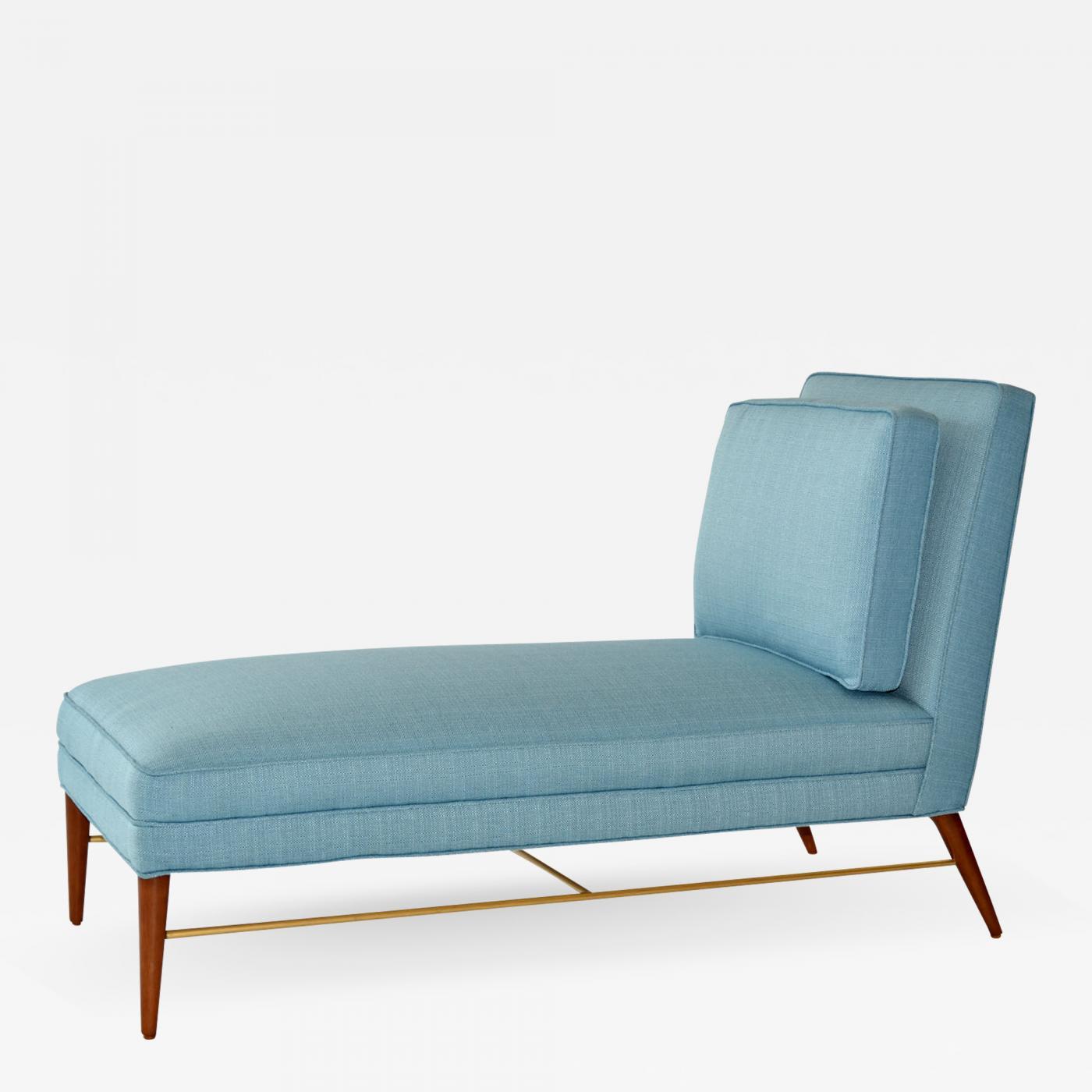 Details About Modern Chaise Lounge Bed Chair Recliner Single Sleeper Light Grey Fabric Alsten