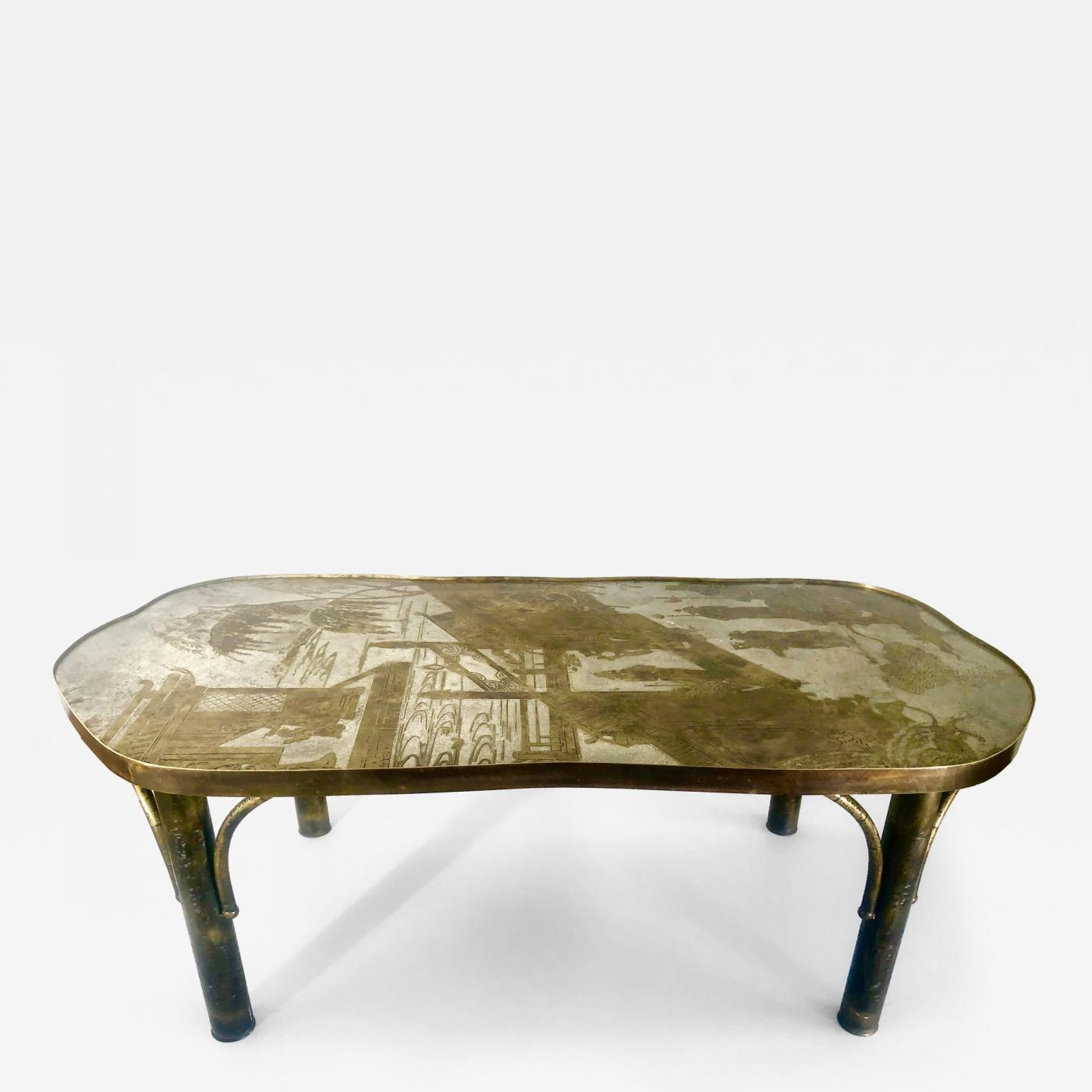 Table 140 Philip And Kelvin Laverne Chinoiserie Bronze Coffee Table By Philip Kelvin Laverne Chan 140