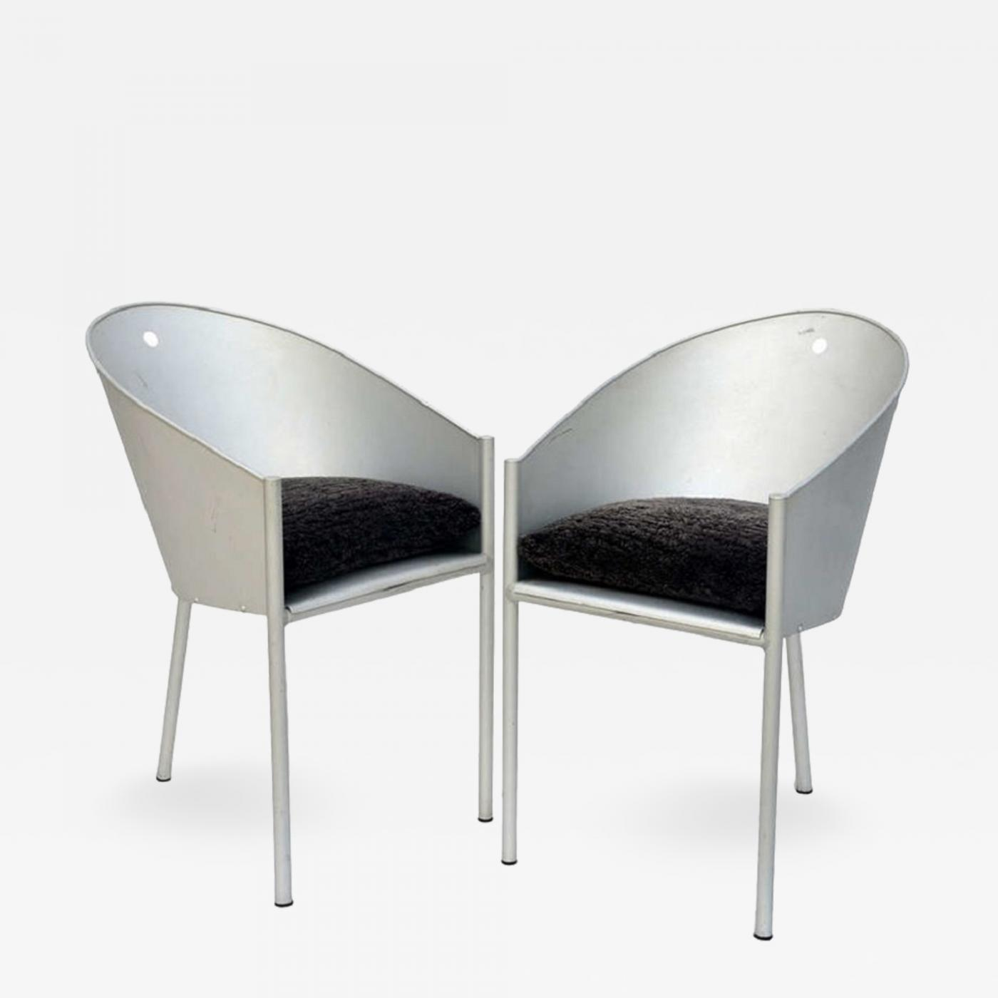 Philip Starck Philippe Starck Pair Of Sculptural Chairs By Philippe Starck