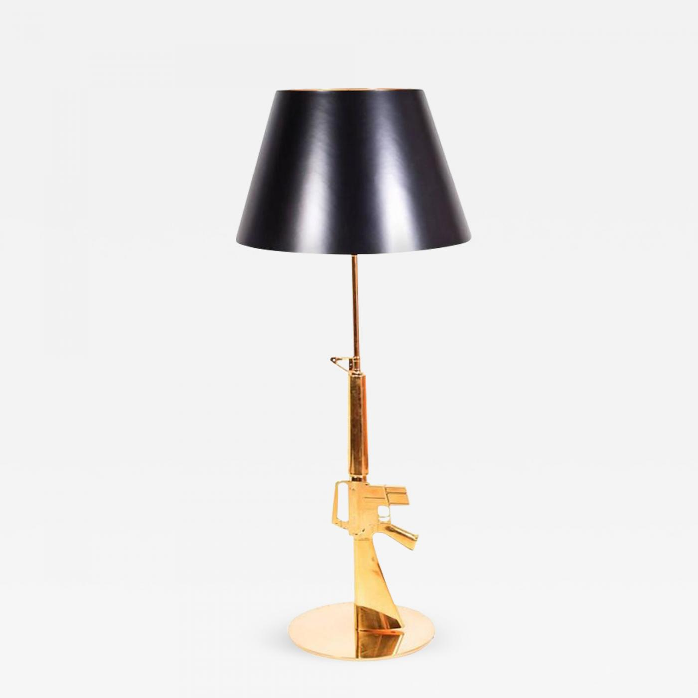 Philipp Stark Philippe Starck Philippe Starck Gun Floor Lamp For Flos