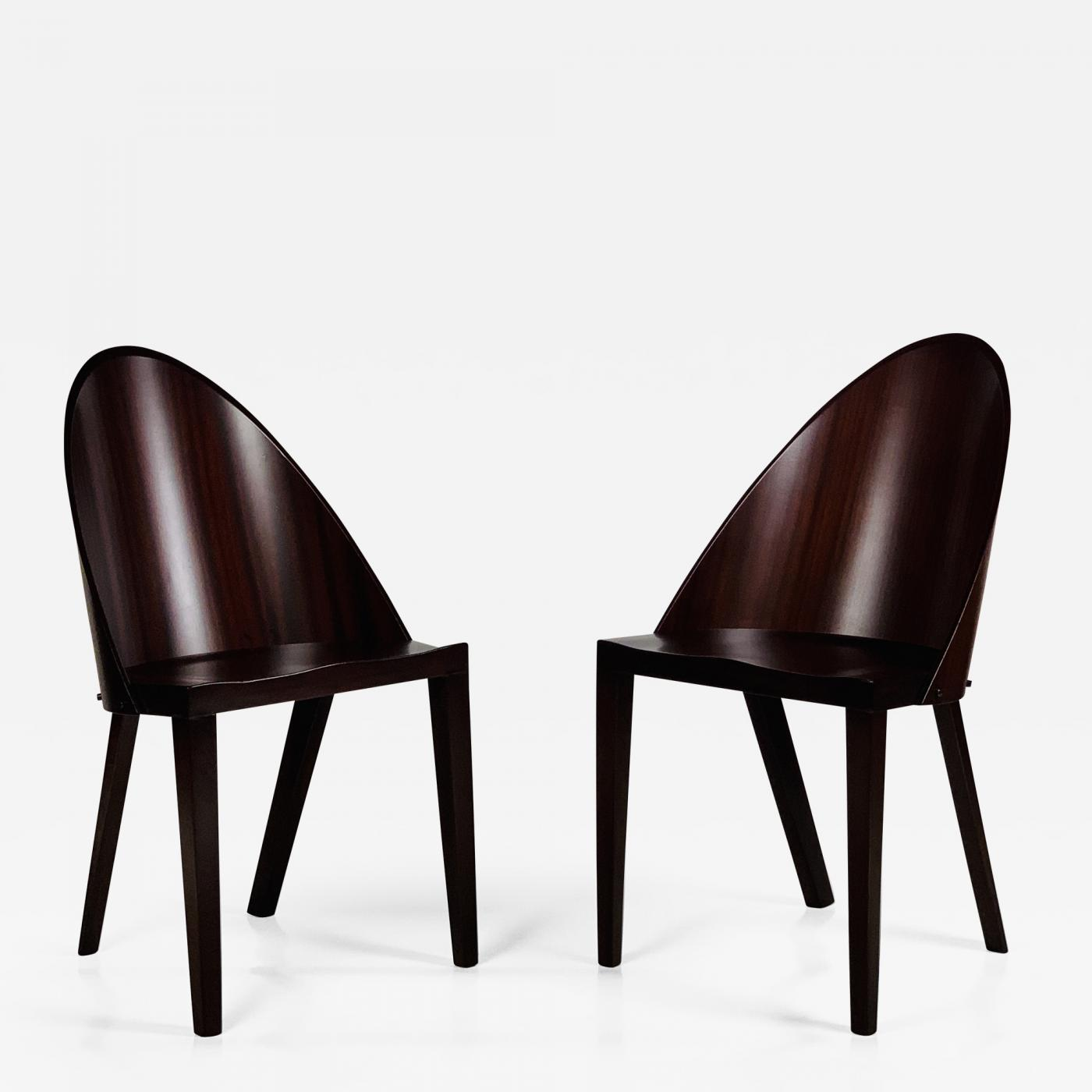 Philippe Starck Rare Pair Of Philippe Starck Chairs From The Royalton Hotel Nyc