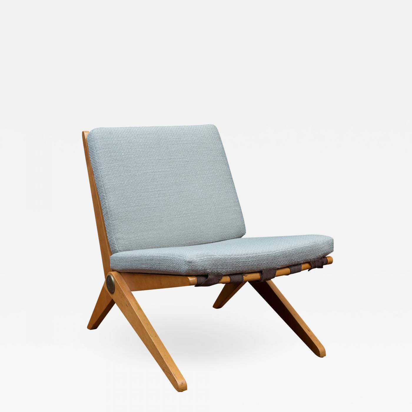 Knoll International Pierre Jeanneret Pierre Jeanneret Scissor Chair For Knoll International