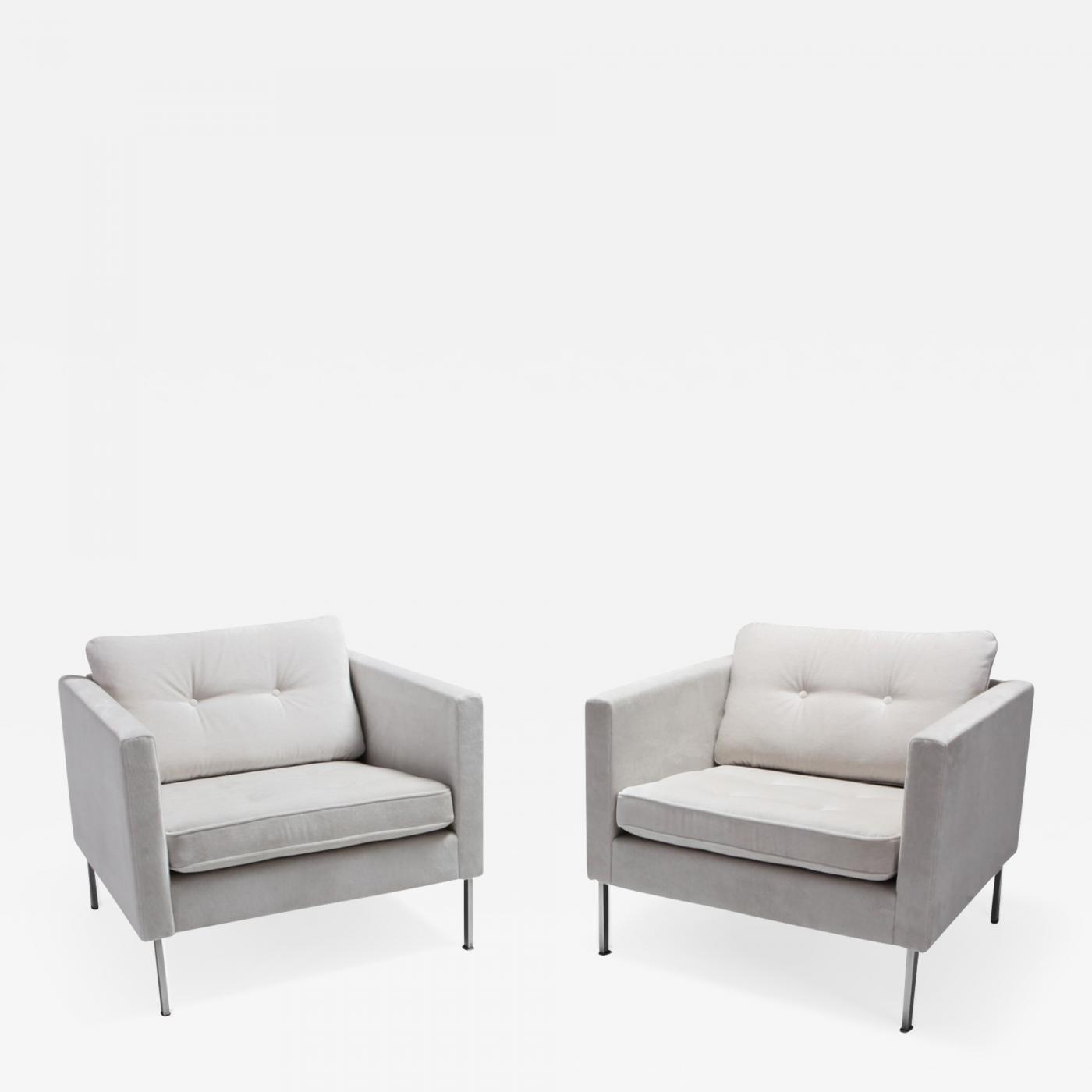 Pierre Paulin Sofa Pierre Paulin 446 Pair Of Rare Club Chairs For Artifort 1968