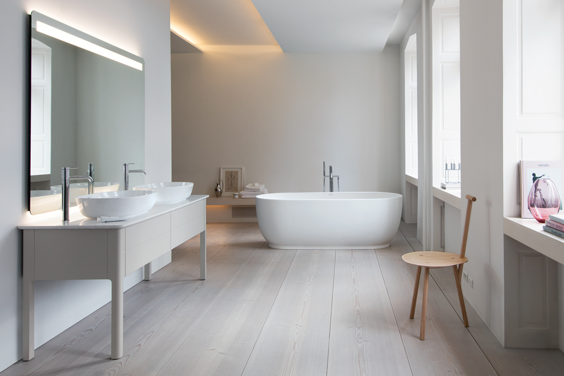 Waschtisch Mit Unterschrank Oval Fall In Love With Luv, From Duravit | Architecture & Design