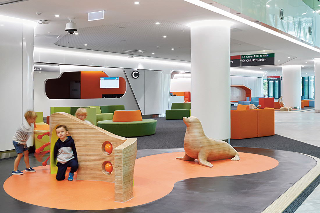 Timber Veneer Perth Perth Children S Hospital By Jcy Cox Billard Leece Partnership