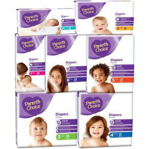 Parents Choice Parent\u0027s Choice Diapers (Choose your Size) Reviews in