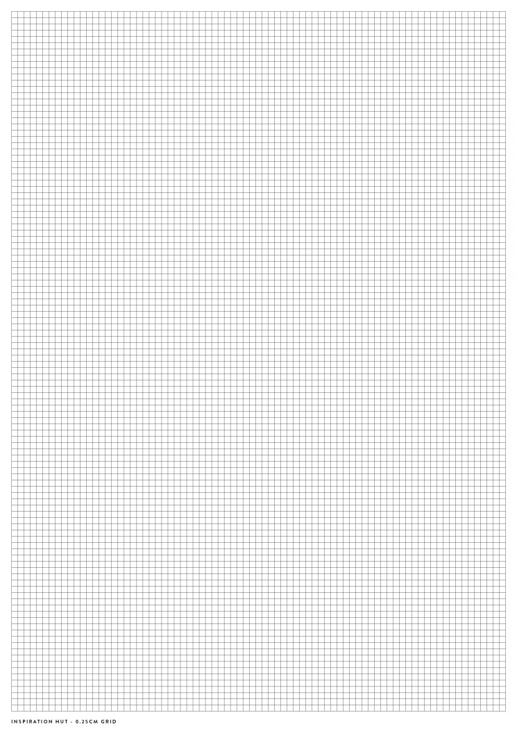 Printable Graph / Grid Paper PDF Templates - Inspiration Hut - digital graph paper