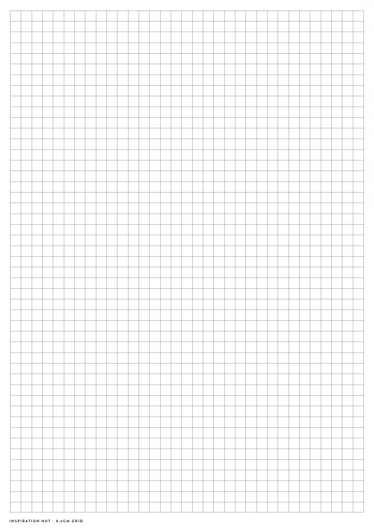 Printable Graph / Grid Paper PDF Templates - Inspiration Hut - graphing paper printable