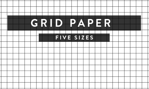 Printable Paper - Isometric, Notebook, Ruled, Dotgrid and More! - digital graph paper