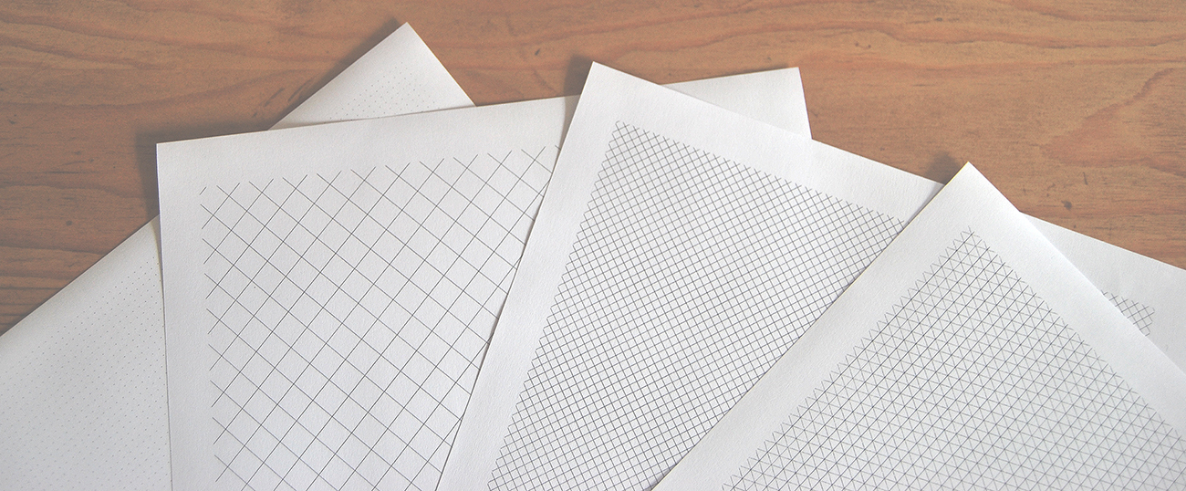 Printable Paper - Isometric, Notebook, Ruled, Dotgrid and More! - paper
