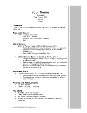 Business Education Resume Sample   Free Cover Letter Templates for