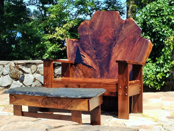 Live Edge Slab Furniture O Insteading