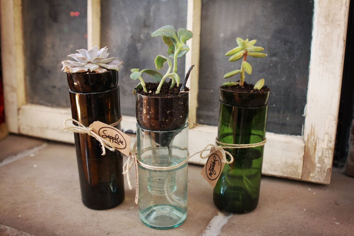 Make Self Watering Planters Self Watering Planters Insteading