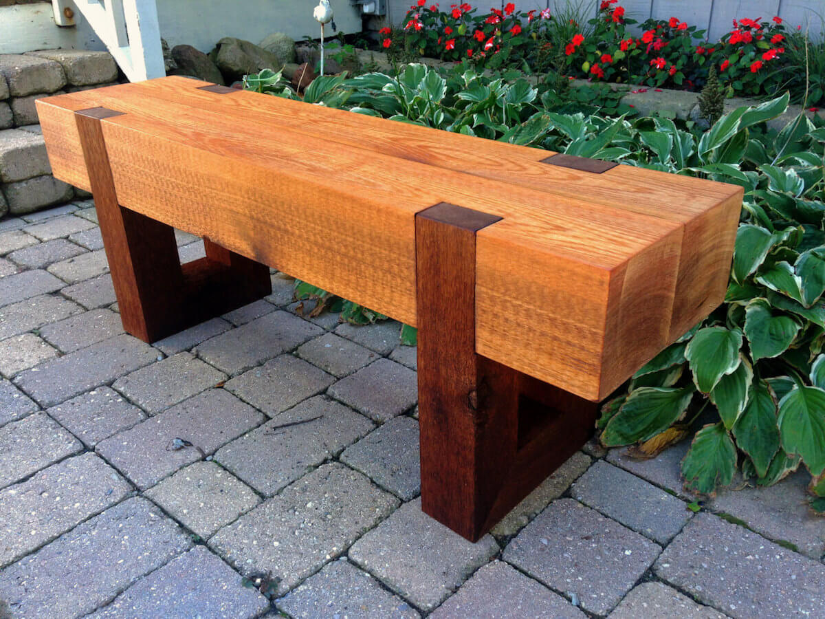 Garden Seats Benches Outdoor Benches 25 Unique Styles From Rustic To Modern Insteading