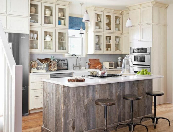 Salvaged Kitchen Cabinets O Insteading