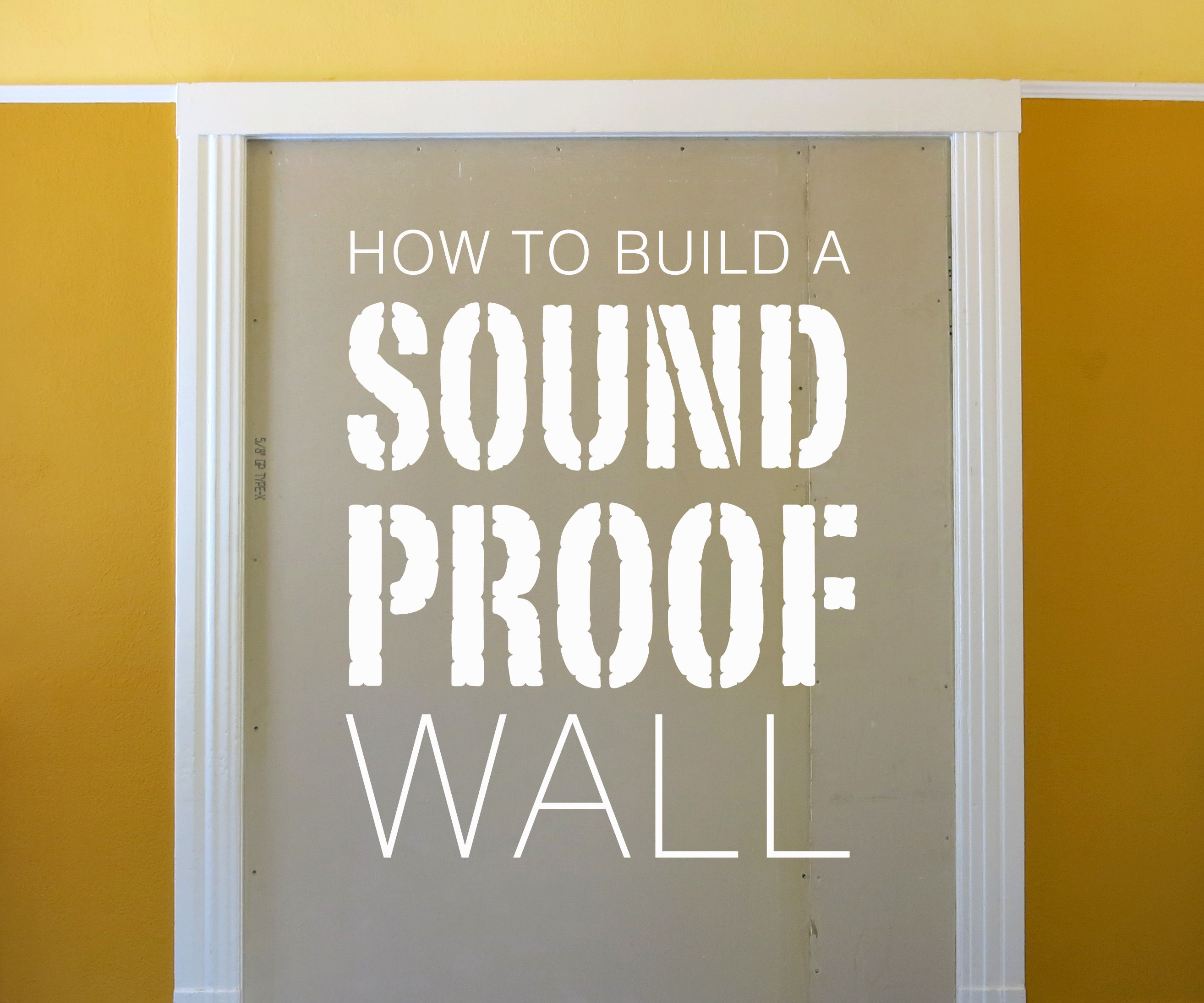 Soundproof Windows Home Depot Build A Soundproof Wall 8 Steps With Pictures