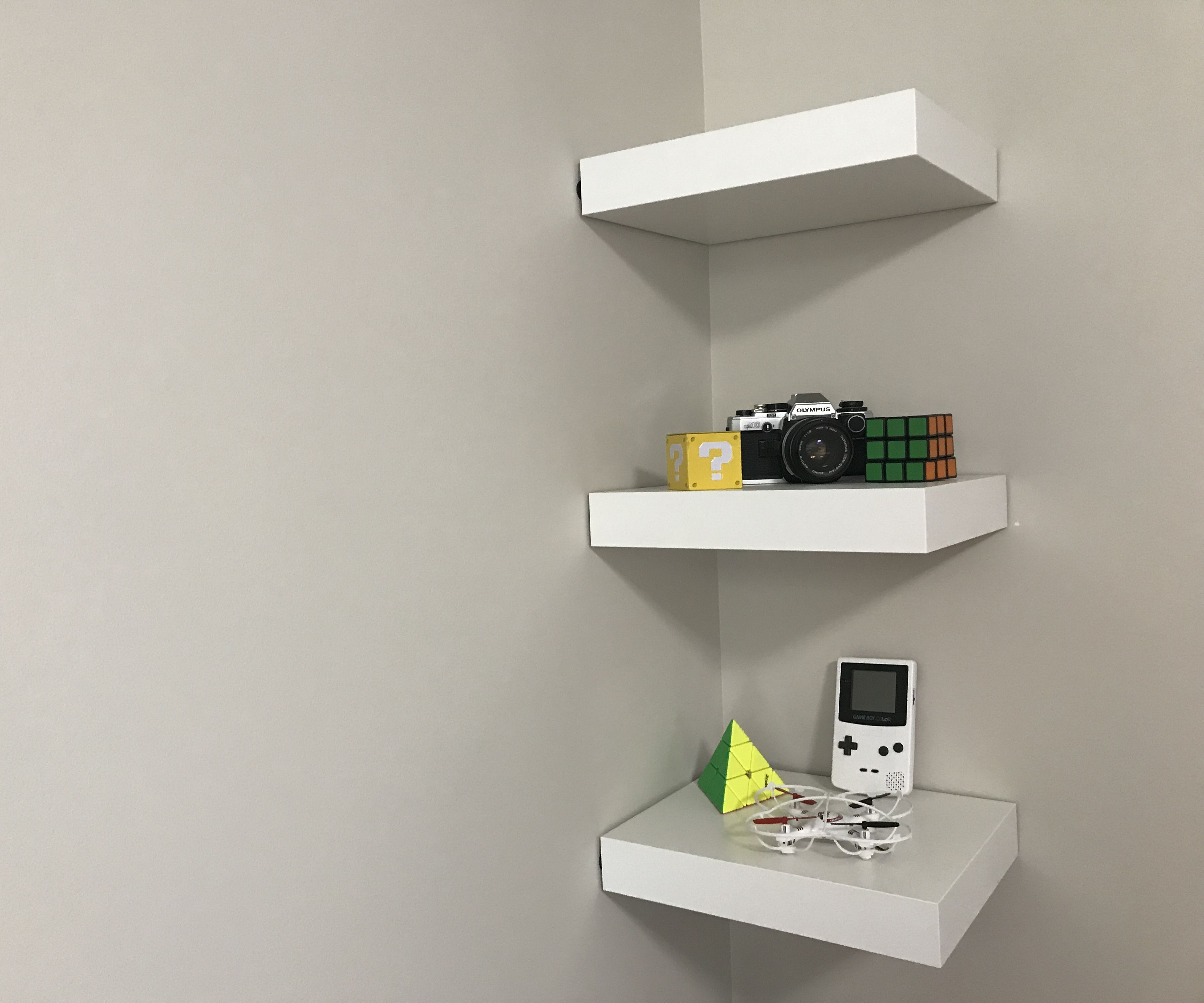 Ikea Lack Upgrade Ikea Lack Shelf Without Drilling Or Nails 6 Steps With Pictures