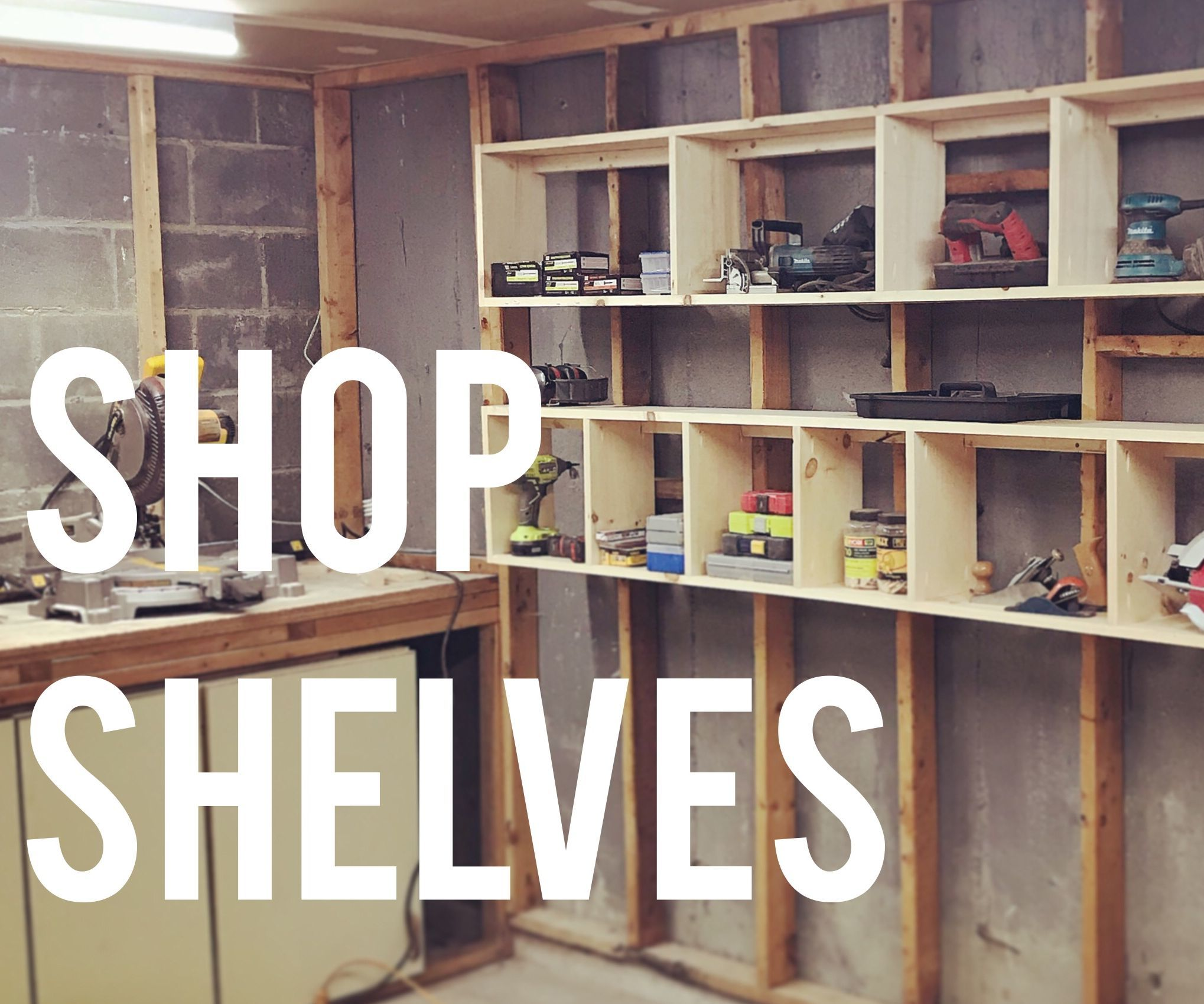 Shelving Shop Quick Easy Shelving For Your Shop Or Garage 12 Steps With Pictures