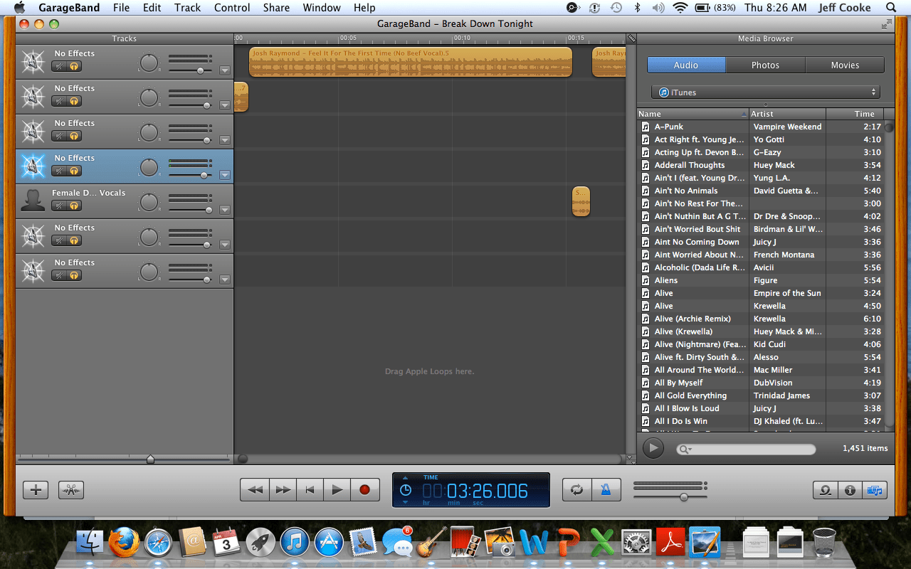 Garageband Loops How To Edit Songs From Your Itunes Library On Garageband 9 Steps