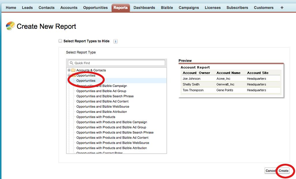 Creating Reports - Salesforce Tutorial Intellipaat