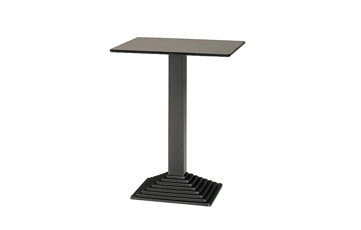 Table Bistrot Inox Table Bistro Ronde Interieurs