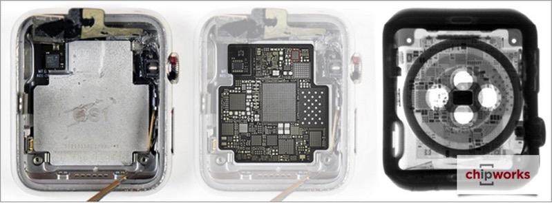 Iphone X Teardown Wallpaper Apple Watch Goes Under X Ray In Technical Teardown By