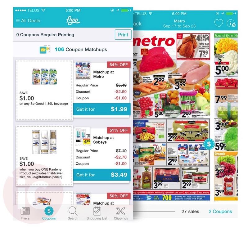 Flyer App \u0027Flipp\u0027 Launches Coupon-Matching Feature in 30 Update u