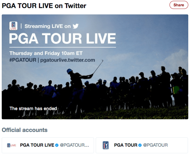 pga tour live coverage