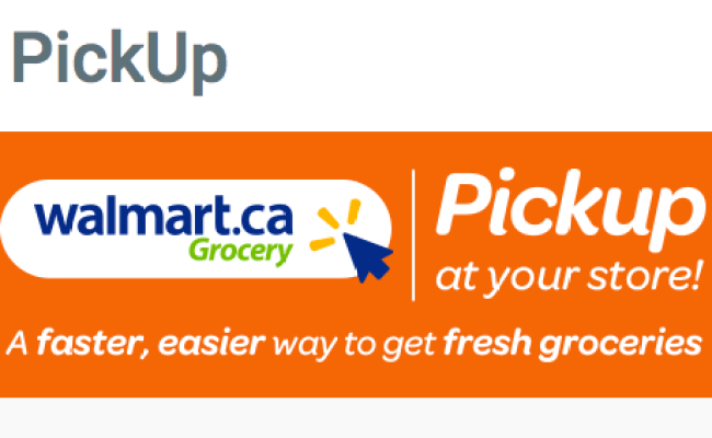 Walmart Canada Launches Free Online Grocery Pickup In