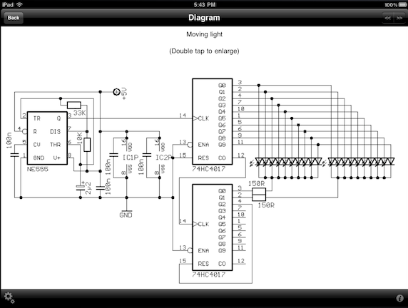 electronic circuit simulator for ipad