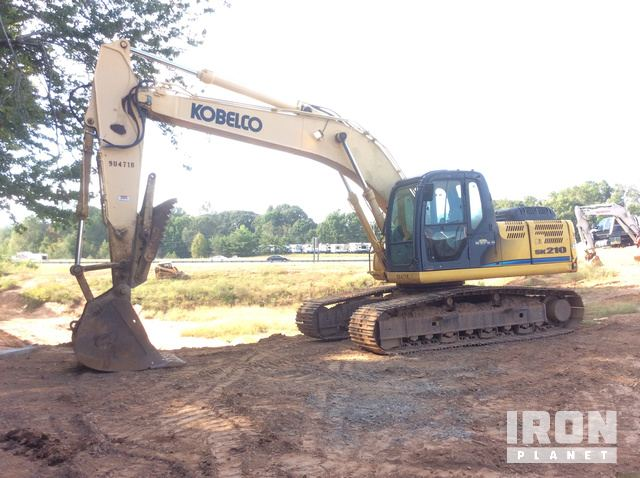 2011 Kobelco SK210-8 Track Excavator in Flowery Branch, Georgia