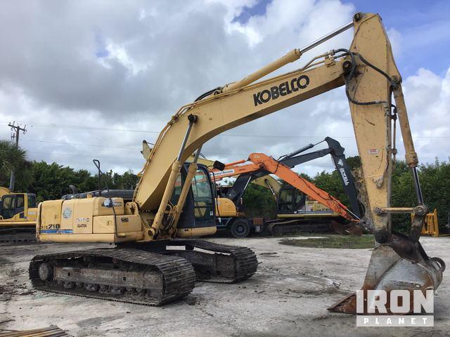 2008 Kobelco SK210-8 Track Excavator in West Palm Beach, Florida