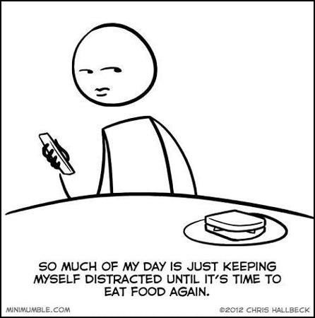 A typical day in my life