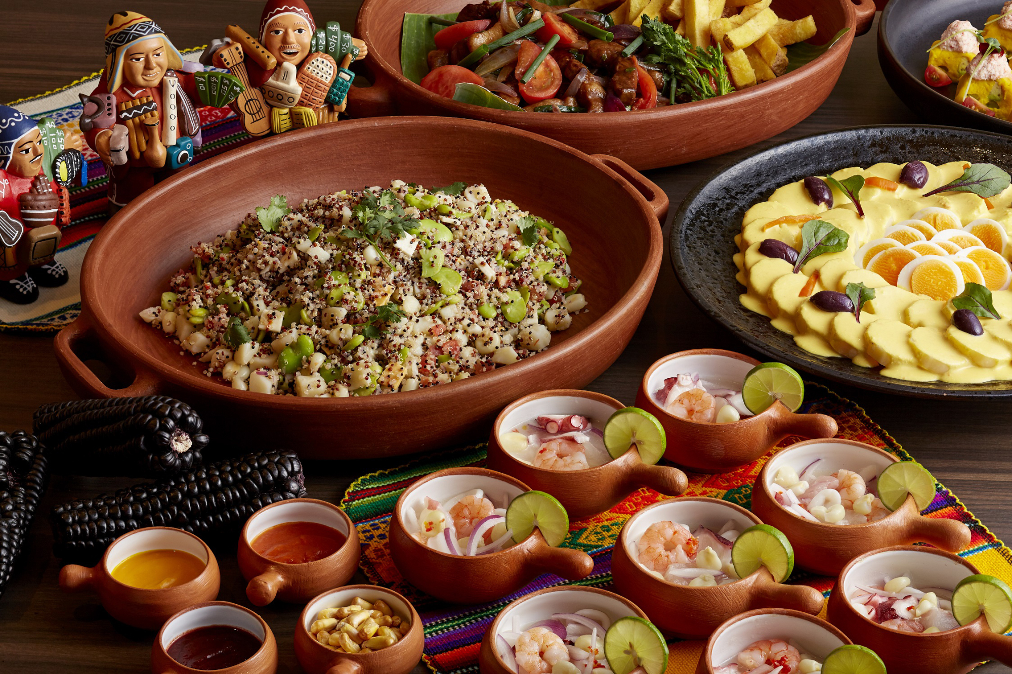 Buffet Cuisine Buffet Offers Chance To Try Authentic Peruvian Cuisine The Japan