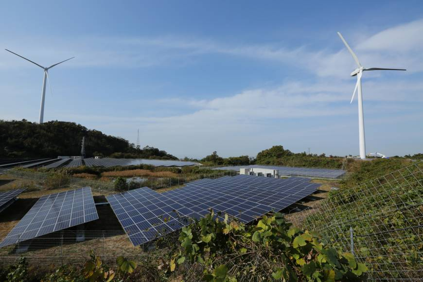 Japan plans shift toward renewable energy, planning for first time
